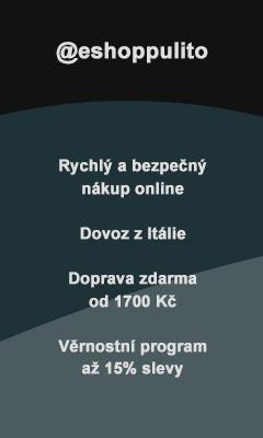 @eshoppulito Rychlý a bezpečný nákup online Dovoz z Itálie Doprava zdarma od 1700 Kč Věrnostní program až 15% slevy