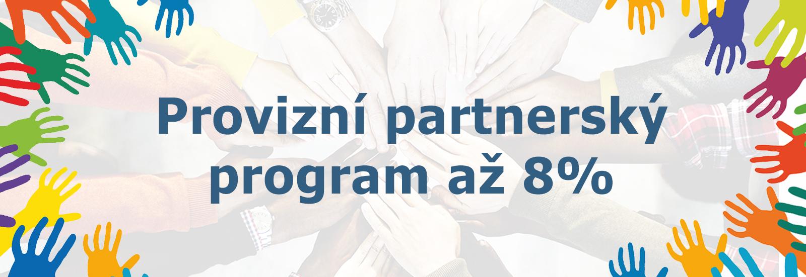 Provizní partnerský program E-shop Pulito