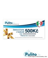 Dárková karta 500