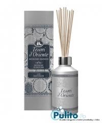 Tesori d´Oriente Diffusore Ambienti Muschio Bianco bytový parfém s tyčinkami 200 ml.