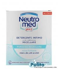 Neutromed pH 4,5 Purezza Micellare, jemný intimní gel na suchou a citlivou pokožku 200 ml.