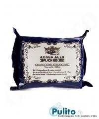 Acqua alle Rose odličovací ubrousky Salviettine Struccanti s vodou z růží 20 ks.