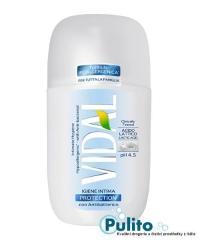 Vidal Intimo Protection con Antibatterico, intimní antibakteriální gel 250 ml.