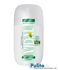 Vidal Intimo Freshness Antiodore, intimní gel 250 ml.