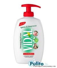 Vidal con Antibatterico, antibakteriální tekuté mýdlo na ruce a tělo 500 ml.