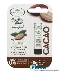 L´Angelica Frutta Viva balzám na rty s kakaovým máslem 4,8 g.