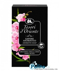 Tesori d´Oriente parfémované toaletní mýdlo Orchidea della Cina 150 g.