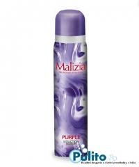 Malizia Deo Spray Purple, dámský tělový deodorant 100 ml.