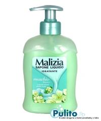 Malizia Muschio Bianco, hydratační tekuté mýdlo 300 ml.