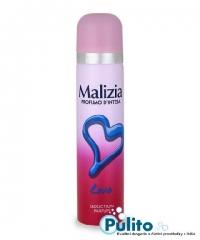 Malizia Deo Spray Love, dámský tělový deodorant 75 ml.
