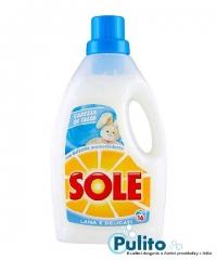 Sole Lana e Delicati Carezza di Talco, prací gel na vlnu a jemné oděvy 1 l.