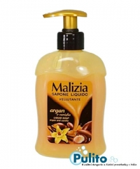 Malizia Argan e Vaniglia, tekuté mýdlo s arganem a vanilkou 300 ml.