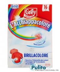 Grey L´acchiappacolore Brillacolore, ubrousky na praní proti zabarvení prádla 16 ks.