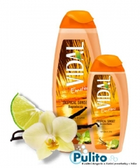 Vidal Emotions Tropical Sunset, sprchový gel/koupelová pěna 500 ml.