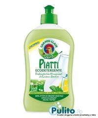 Chante Clair Vert Piatti, ekologický jar na nádobí citrón a bazalka 500 ml.