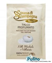 Spuma di Sciampagna Talco Profumato Beauté Ricarica, parfémovaný tělový pudr 75 g.