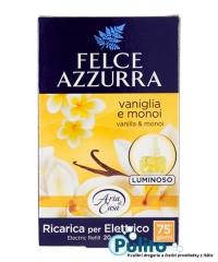 Felce Azzurra Aria di Casa náhradní náplň Vaniglia e Monoï, bytový parfém 20 ml.