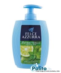 Felce Azzurra con Antibatterico Menta e Lime tekuté mýdlo na obličej a ruce 300 ml.