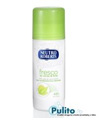 Neutro Roberts Fresco Té verde e Lime, tuhý tělový deodorant 40 ml.