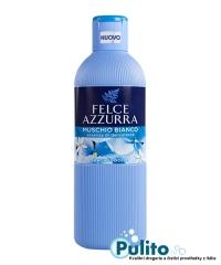 Felce Azzurra Muschio Bianco sprchový gel/koupelová pěna 650 ml.
