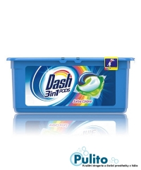 Dash 3v1 PODS Salva Colore gelové kapsle na barevné prádlo 15 ks.