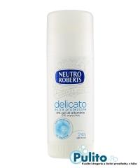 Neutro Roberts Deo Stick Delicato Extra Protezione, tuhý tělový deodorant bez hliníkových solí, 40 ml.
