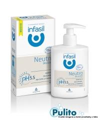 Infasil Specialist Intimo Neutro Delicato, intimní gel jemný neutrální 200 ml.