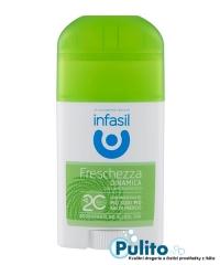 Infasil Deo Stick Freschezza Dinamica, svěží tuhý deodorant 40 ml.