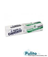 Pasta del Capitano Antitartaro, zubní pasta pro kuřáky s BIO mátou 100 ml.