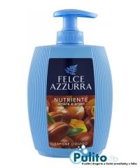 Felce Azzurra Ambra e Argan tekuté mýdlo na ruce a obličej 300 ml.