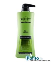 Biopoint Professional Purificante, čisticí vlasový šampon 400 ml.