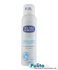 Neutro Roberts Delicato Extra Protezione, tělový deodorant ve spreji 150 ml.