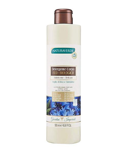 Naturaverde BIO sprchový gel Foglie d´Ulivo e Fiordaliso 500 ml.