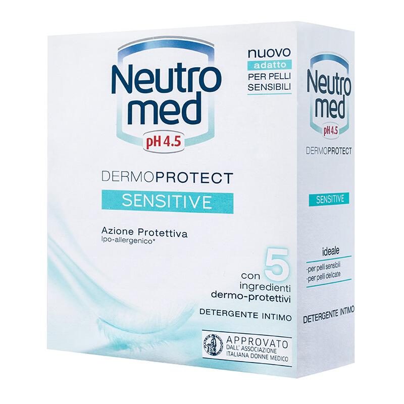 Neutromed pH 4,5 Sensitive, intimní mýdlo pro velmi cilivou pokožku 200 ml.