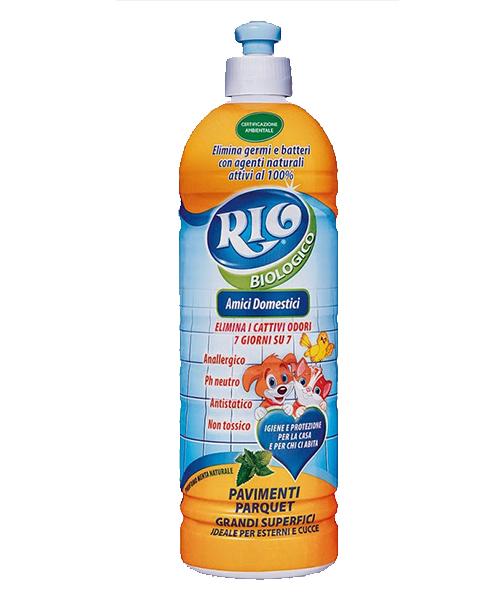 Rio Biologico Amici Domestici, ekologický přípravek na omyvatelné povrchy a podlahy 750 ml.
