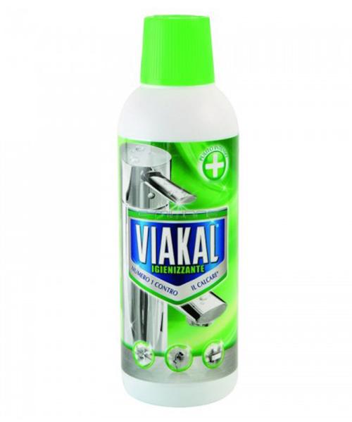 Viakal Igienizzante, parfémovaný gel na rez a vodní kámen 500 ml.