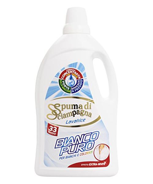 Spuma di Sciampagna Bianco Puro, prací gel 2,53 l., 46 pracích dávek