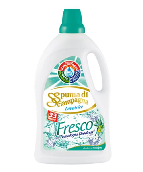 Spuma di Sciampagna Fresco, prací gel 1,815 l. 33 pracích dávek