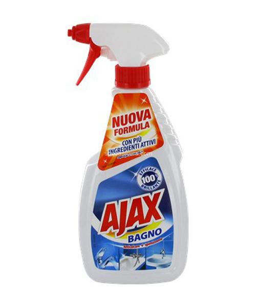 Ajax Bagno, čistící prostředek na koupelny 600 ml.