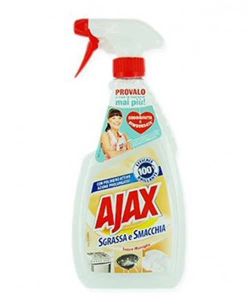 Ajax Max Power Sgrassa e Smacchia, Freschezza Marsiglia, univerzální čistící prostředek a odmašťovač 600 ml.