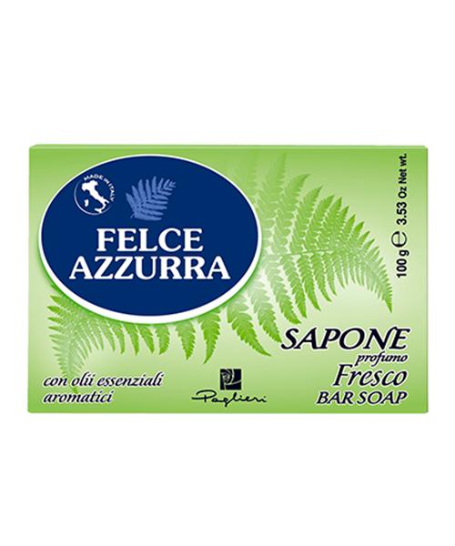 Felce Azzurra Sapone solido Fresco, toaletní mýdlo 100 g.