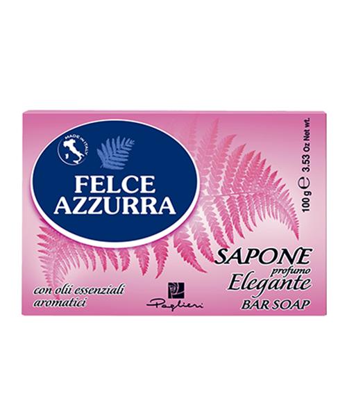 Felce Azzurra Sapone solido Elegante, toaletní mýdlo 100 g.