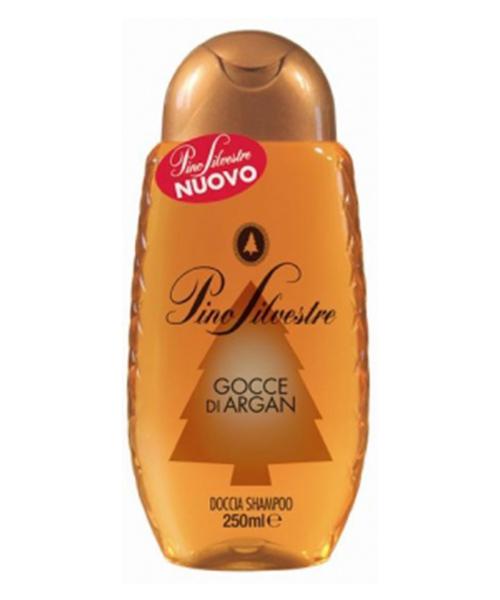 Pino Silvestre Doccia Shampoo Gocce di Argan, sprchový šampón 250 ml.