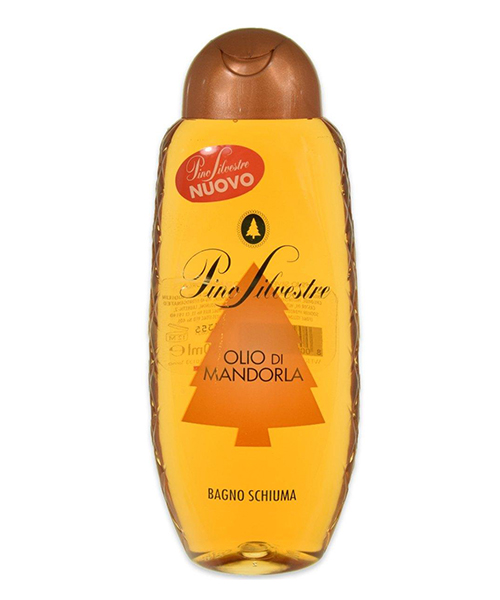 Pino Silvestre Bagno Schiuma Olio di Mandorla, koupelová pěna s mandlovým olejem 500 ml.