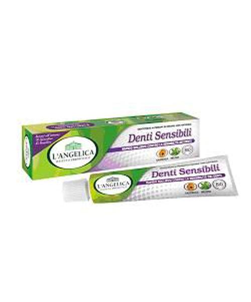 L´Angelica Denti Sensibili, přírodní zubní pasta na citlivé zuby 75 ml.