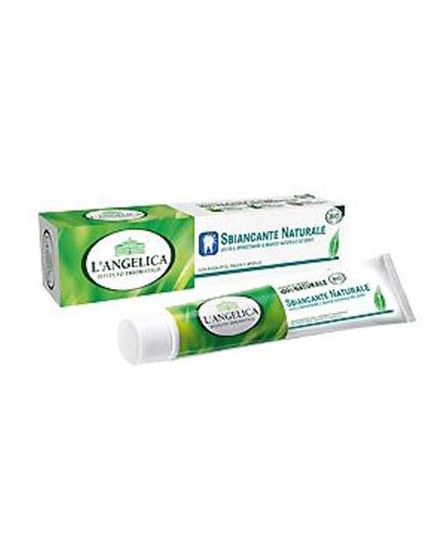 L´Angelica BIO Sbiancante Naturale, přírodní bělící zubní pasta 75 ml.
