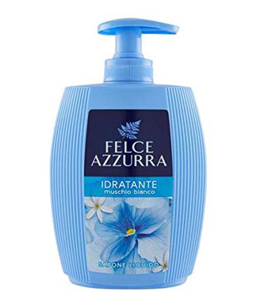 Felce Azzurra Muschio Bianco tekuté mýdlo na obličej a ruce 300 ml.