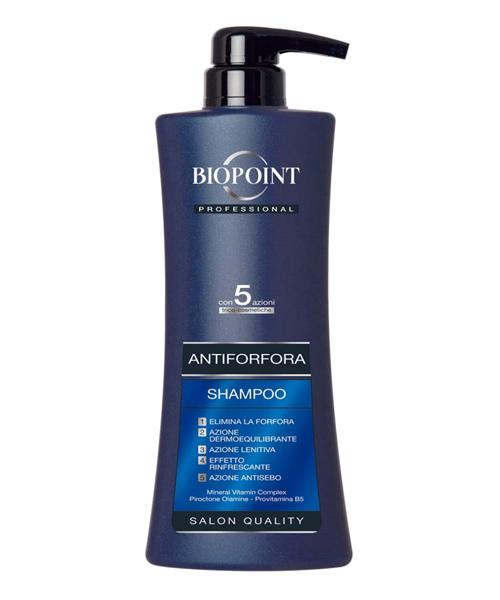 Biopoint Professional Shampoo Antiforfora, profesionální šampón proti lupům 400 ml.