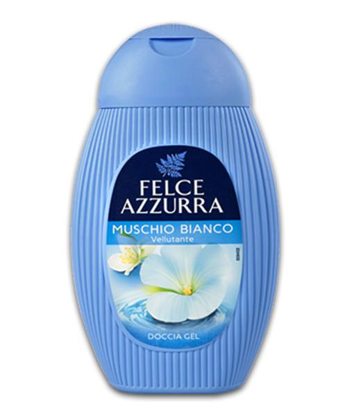 Felce Azzurra Muschio Bianco sprchový gel 250 ml.
