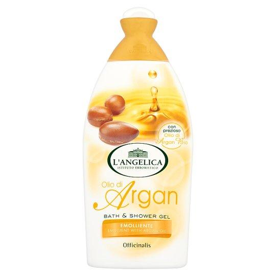 L´Angelica Officinalis Bagnodoccia Setificante con Olio di Argan, změkčující sprchová pěna s arganovým olejem 500 ml.